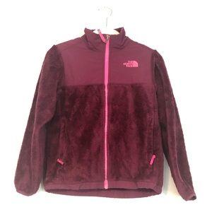 The North Face girls M (10/12) fleece jacket